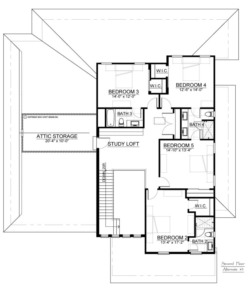 Laureate Park - Floor Plan 2nd Floor Option B